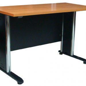RDTBN-1208โต๊ะทำงานขาเหล็กหน้า TOP เมลามีน