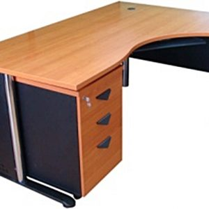 RDTBN-1601โต๊ะทำงานผู้บริหารหน้าโต๊ะติดผิวเมลามีนกันน้ำ กันกระแทก กันความร้อน